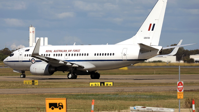 A36-001 - Boeing 737-7DT(BBJ) - Australia - Royal Australian Air Force (RAAF)