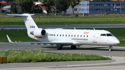 D-ANSK - Bombardier CRJ-200LR - Global Reach Aviation