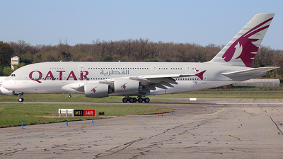 F-WWAJ - Airbus A380-861 - Qatar Airways