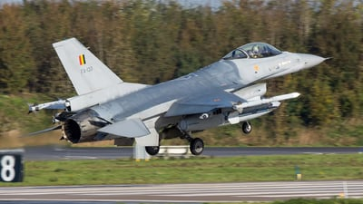 FA-133 - General Dynamics F-16AM Fighting Falcon - Belgium - Air Force