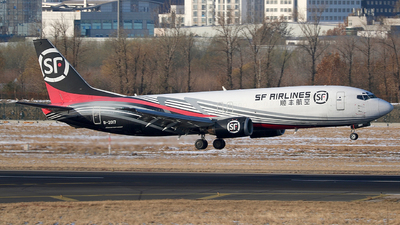 B-2017 - Boeing 737-4K5(SF) - SF Airlines