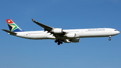 ZS-SNH - Airbus A340-642 - South African Airways