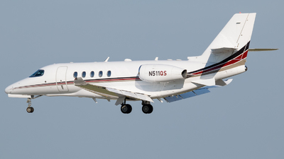 N511QS - Cessna Citation Latitude - NetJets Aviation