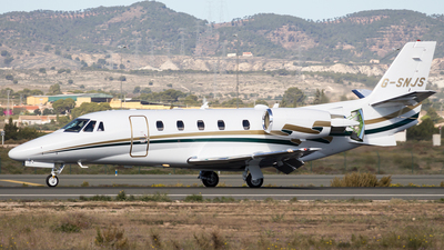 G-SNJS - Cessna 560XL Citation XLS+ - Gama Aviation