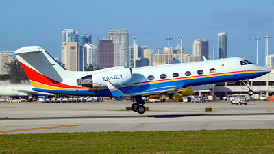 XA-JEY - Gulfstream G-IV(SP) - Private