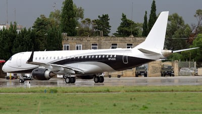 VP-CCC - Embraer 190 Lineage 1000 - Arab Wings