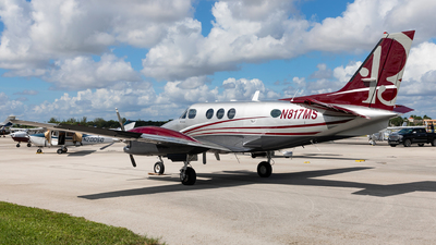 N817MS - Beechcraft C90A King Air - Private