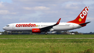 PH-CDE - Boeing 737-8GQ - Corendon Dutch Airlines