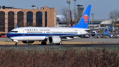 B-1121 - Boeing 737-8 MAX - China Southern Airlines