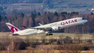 A7-AMK - Airbus A350-941 - Qatar Airways