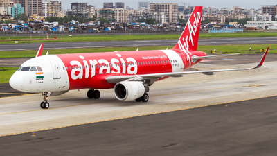 VT-RED - Airbus A320-216 - AirAsia India