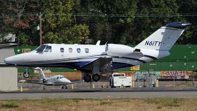 N61TY - Cessna 525 CitationJet - Private