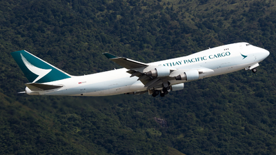 B-LIB - Boeing 747-467ERF - Cathay Pacific Cargo