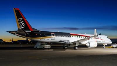 JA24MJ - Mitsubishi MRJ90STD - Mitsubishi Aircraft Corporation