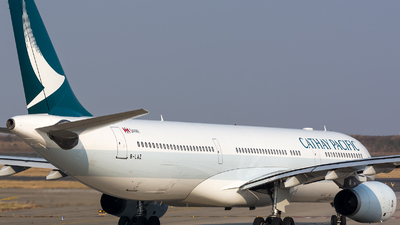 B-LAZ - Airbus A330-343 - Cathay Pacific Airways