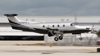 N787RJ - Pilatus PC-12/47E - Private