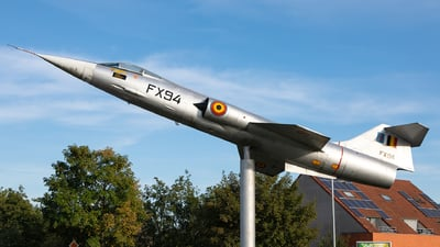 FX-94 - Lockheed F-104G Starfighter - Belgium - Air Force