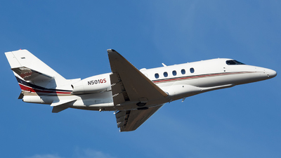 N501QS - Cessna Citation Latitude - NetJets Aviation