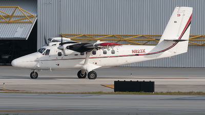 N823X - De Havilland Canada DHC-6-300 Twin Otter - Private