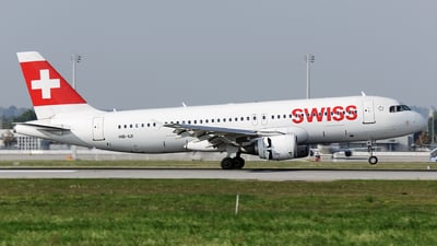 HB-IJI - Airbus A320-214 - Swiss