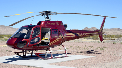 N745SH - Eurocopter AS 350B2 Ecureuil - Sundance Helicopters