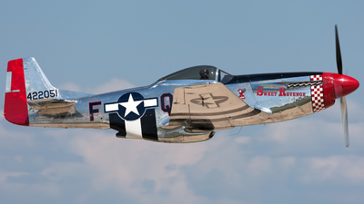 N68JR - North American P-51D Mustang - Private