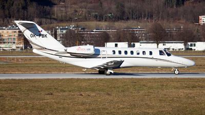 OK-PBK - Cessna 525 Citation CJ3 - Queen Air