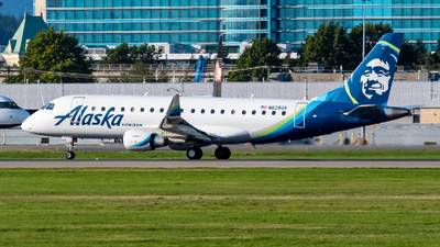N628QX - Embraer 170-200LR - Alaska Airlines (Horizon Air)