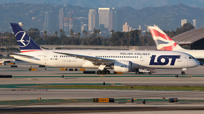 SP-LSB - Boeing 787-9 Dreamliner - LOT Polish Airlines
