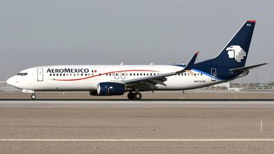 n825am | boeing 737 852 | aeroméxico | jetphotos