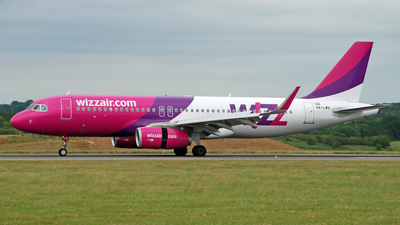HA-LWV - Airbus A320-232 - Wizz Air