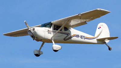 HP-875 - Cessna 140 - Private