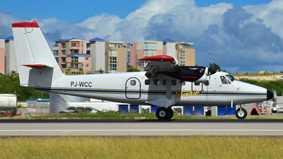 PJ-WCC - De Havilland Canada DHC-6-300 Twin Otter - Winair - Windward Islands Airways