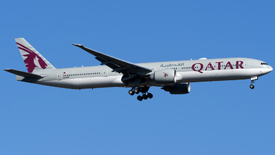A7-BEP - Boeing 777-3DZER - Qatar Airways