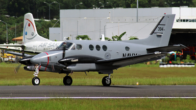 394 - Beechcraft TC-90 King Air - Philippines - Navy