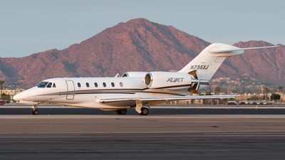 N795XJ - Cessna 750 Citation X - XOJet