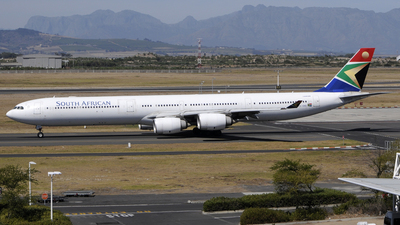 ZS-SNG - Airbus A340-642 - South African Airways