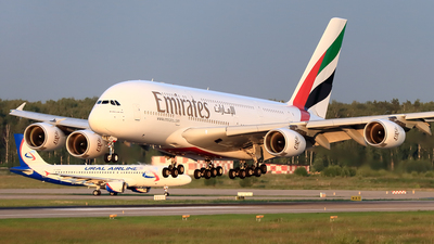 A6-EEX - Airbus A380-861 - Emirates