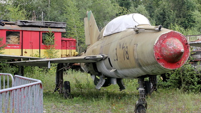 23-78 - Mikoyan-Gurevich MiG-21UM Lancer B - Germany - Air Force