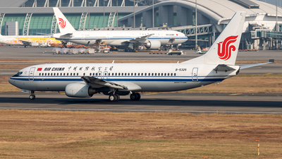 B-5325 - Boeing 737-86N - Air China
