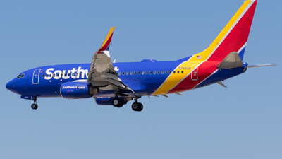 N7855A - Boeing 737-79P - Southwest Airlines