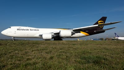 N605UP - Boeing 747-84AF - United Parcel Service (UPS)