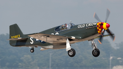 N551E - North American P-51 Mustang - Private
