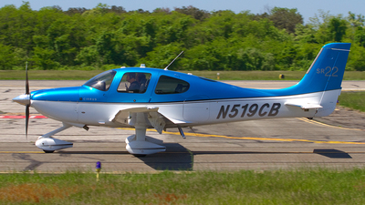 N519CB - Cirrus SR22 - Private