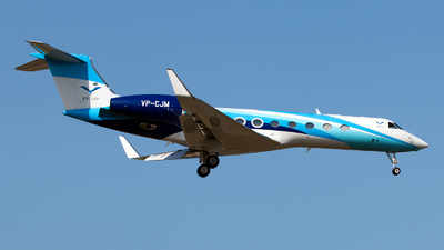 VP-CJM - Gulfstream G550 - Private