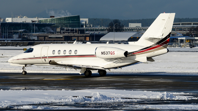 N537QS - Cessna Citation Latitude - NetJets Aviation