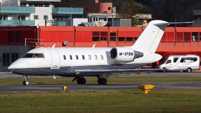 M-SPBM - Bombardier CL-600-2B16 Challenger 605 - Private