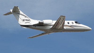 N718AC - Hawker Beechcraft 400A - Private