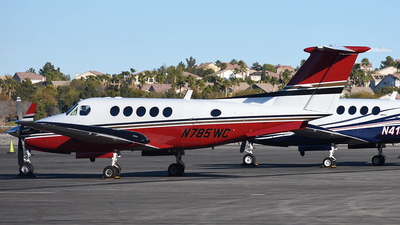 N785WC - Beechcraft 200 Super King Air - Private