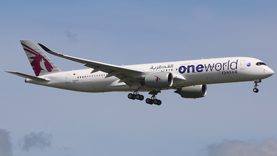 F-WZFO - Airbus A350-941 - Qatar Airways